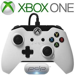 REFURB XBOX ONE PDP CONTROLLER - 114241784 - WHITE WIRED VIDEO GAMES ACCESSORIES