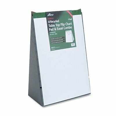Ampad Recycled Table Top Flip Chart - 20 Sheet - 15 Lb - 20 X 28 - 1 Each -