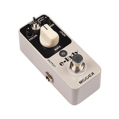 New Mooer E-lady Classic Analog Flanger Micro Guitar Pedal!!! ELady ElecLady