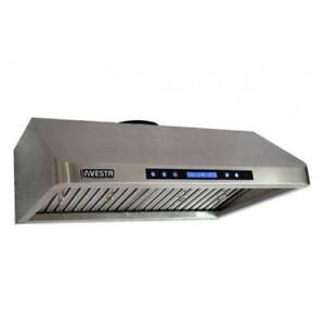 LUXURY STAINLESS STEEL RANGEHOODS FOR SALE!!