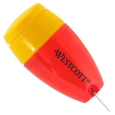 Westcott Plastic Manual Pencil Sharpener Colors Vary