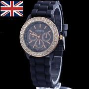 Ladies Diamante Watch