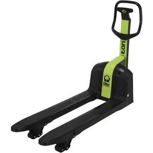 Techno-polymer Pallet truck - made of non-metallic material ( Great for Chemical, Food Processing, Fruit & Veg, Health )