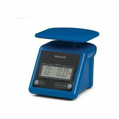 Brecknell Electronic Postal Shipping Scale 7lb Capacity Weight Platform Blue Ps7