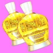 14 Karat Gold Tanning Lotion