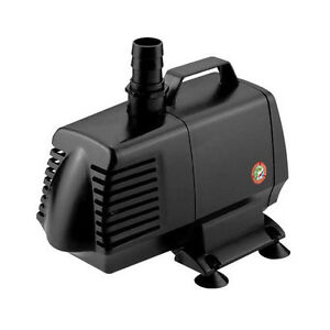 1083 gph pond pump submersible inline fountain waterfall for Best pond pump for small pond