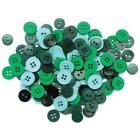 Assorted Green Buttons