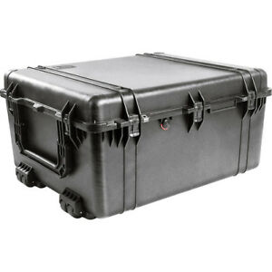 Pelican 1690 Transport Cases Without Foam (Black)