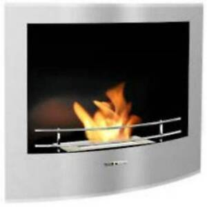 Ethanol Fireplace Built-in-Fireplace-STAINLESS-STEEL 10% SALE NOW Erina Gosford Area Preview