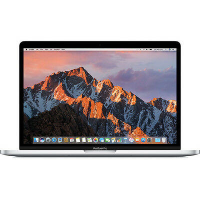 Apple 13.3 MacBook Pro with Touch Bar (Mid 2017, Silver) MPXY2LL/A