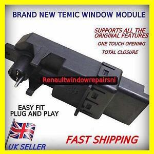 NEW TEMIC RENAULT MEGANE SCENIC GRAND CLIO WINDOW REGULATOR MOTOR MODULE