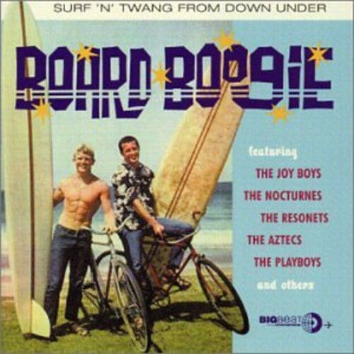 Various Artists - Board Boogie Surf N Twang from Down / Various [New CD] UK - Im