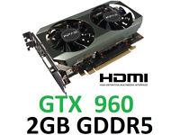 GTX 960 2gb Graphics card