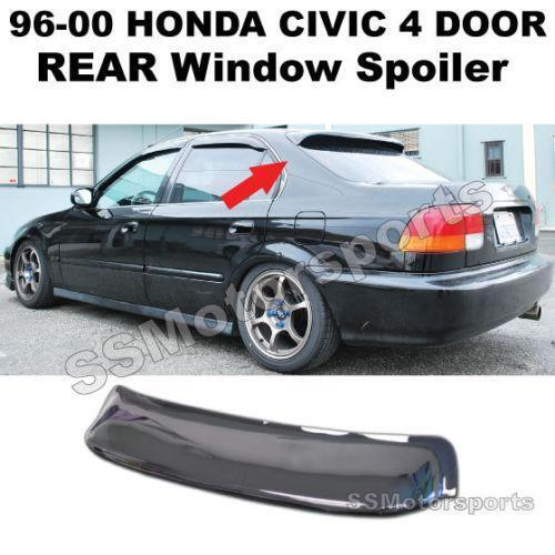 Civic Rear Visor: Spoilers & Wings | eBay