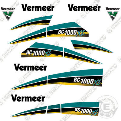 Vermeer Bc1000xl Tier 4 Brush Chipper Decal Kit Bc 1000 Xl