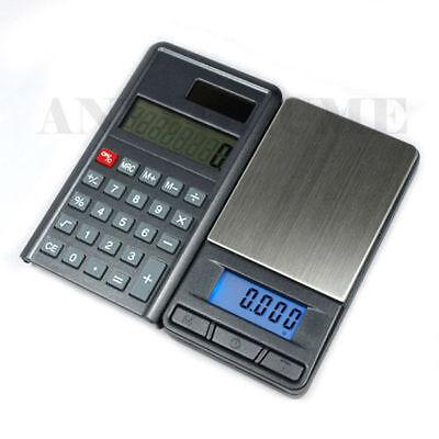 New Digital Pocket Scale 200g x 0.01 PCC-200 Calculator Scale 0.01g accuracy