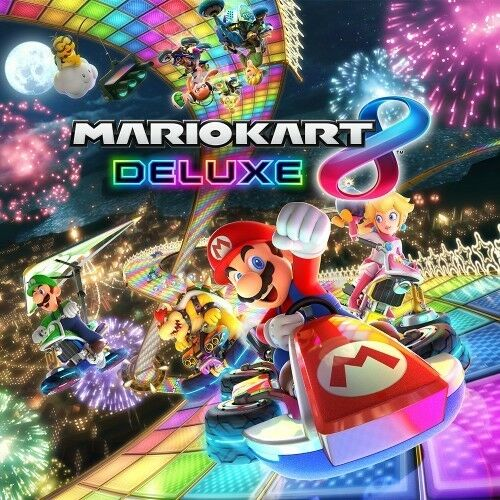 Mario Kart 8 Deluxe for Nintendo Switch - Brand New