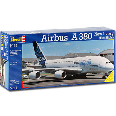 REVELL Airbus A380 Livery 1:144 Aircraft Model Kit 04218