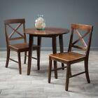 Dark Wood Tone Wood Table Sets Dining Furniture Sets