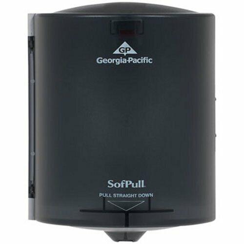 Sofpull Center Pull Hand Towel Dispenser, Smoke Gray (GPC58204)