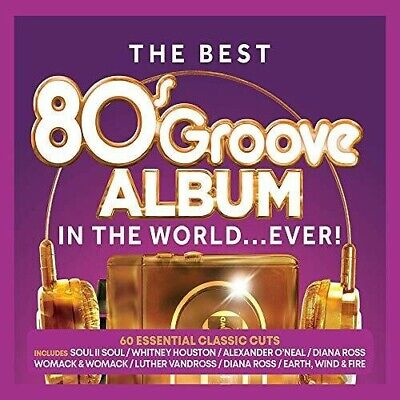 Various Artists - Best 80s Groove Album In The World...Ever / Various [New CD]