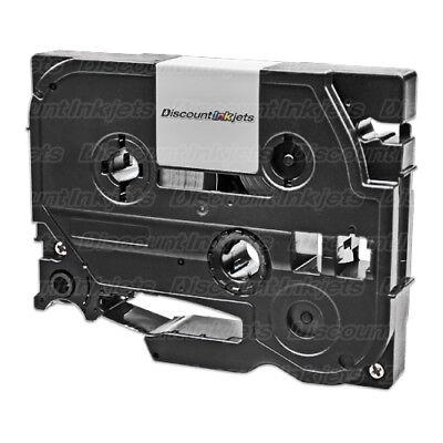 Tze231 Black On White Tape Cassette For Brother Pt-1280sr Pt-1280 Pt-1230pc