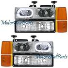 97 GMC Sierra Headlights