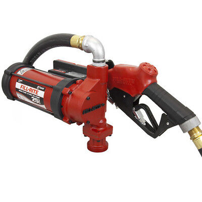 Tuthill Fill Rite Fr3210b 12 V Dc High Flow 25 Gpm Fuel Transfer Pump Heavy Duty