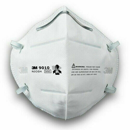 5 MASKS- 3M 9010 Face Mask INDIVIDUALLY WRAPPED- In Stock ready to ship from USA