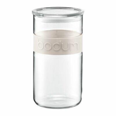 Bodum Presso 2.0L / 68oz Storage Jar Off White 68 Oz Jar