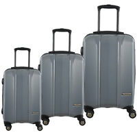 *McBRINE* A719 3Pc Expandable SPINNER LUGGAGE SET