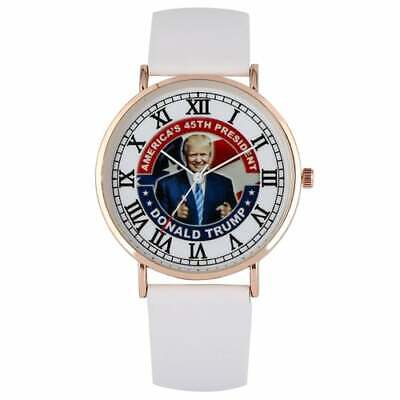 """Donald Trump 40mm """"AMERICA'S 45TH PRESIDENT"""" Stainless Steel Watch L@@K!!!"""