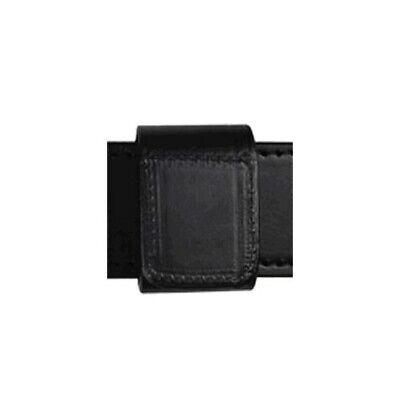 Boston Leather 5497-5 2 Black Nylon Double Wide Belt Keeper W Hook N Loop