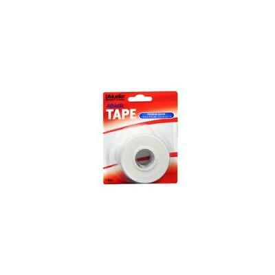 Mueller Sport Care Athletic Tape, White, Latex-Free, 1.5 Inches By 10 Yards Roll