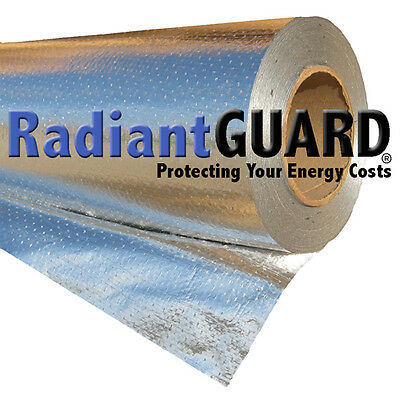 Radiant Barrier Insulation Radiantguard Ultima-foil 500 Sf Reflectivity Of 97