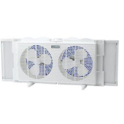 (Lasko 2137 Twin Window Fan, White, FREE SHIPPING)