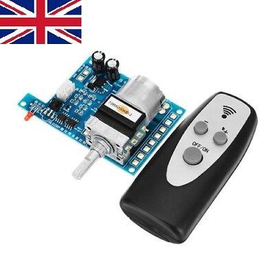 9V Infrared ALPS Remote Control Volume Control Board Potentiometer Pre AMP Motor