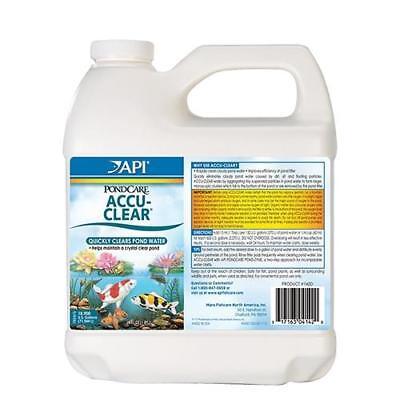 64 Oz Pond Water - API Pond Care Accu-Clear  64 oz Pond & Fountain Water Clarifier 142D