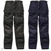 Multi Pocket Work Trousers