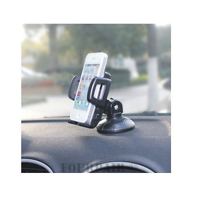 Car Dashboard Dash Mount Holder for Smart Cell Phone iPhone 4S/5/5S/6/6S/7 Plus ()