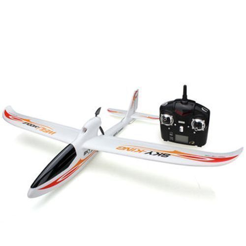 Wltoys F959 Sky King 2.4G RC 3CH 750mm Wingspan 200m Range Airplane Glider- RTF