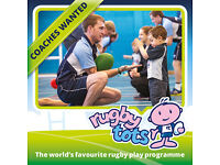 Rugbytots Coach - lead and assistant coach wanted