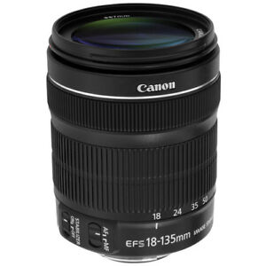 Canon EF-S 18-135mm f/3.5-5.6 IS STM Lens Excellent Condition