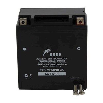 GEL Batterie KAGE Typ 6D3P 51112 51113 für Yamaha XC Piaggio Hexagon...