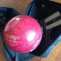 10 Pin Bowling Ball, Carry Case & Size 10 Shoes