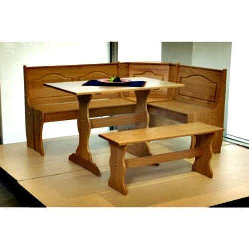 Corner Nook Dining Set: Furniture  eBay