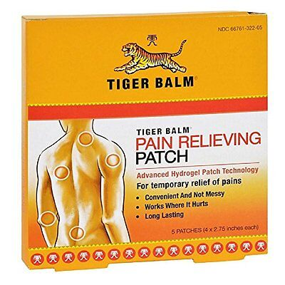 6 Pack - Tiger Balm Patches 5 Patches Each