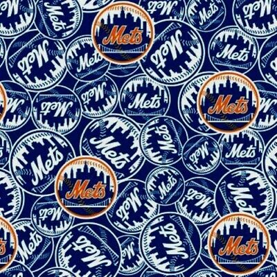 MLB Baseball New York Mets New Logo Blue 18x29