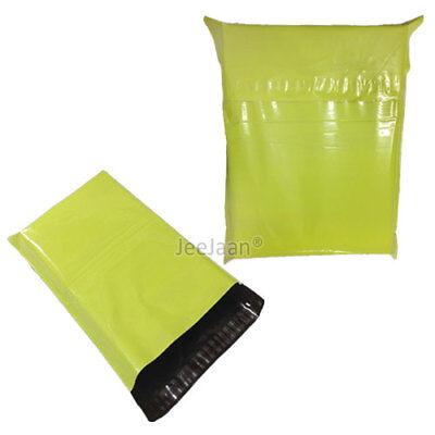 NEON GREEN Postal Bags 12