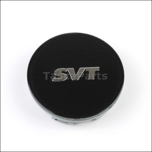 Mustang Svo Emblem Black 79 18: SVT Center Caps